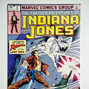 Marvel Comics The Further Adventures of Indiana Jones, Vol. 1, No. 5, May 1983