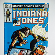Marvel Comics The Further Adventures of Indiana Jones, Vol. 1, No. 6, June 1983