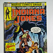 Marvel Comics The Further Adventures of Indiana Jones, Vol. 1, No. 7, July 1983
