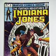 Marvel Comics The Further Adventures of Indiana Jones, Vol. 1, No. 8, Aug. 1983