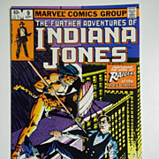 Marvel Comics The Further Adventures of Indiana Jones, Vol. 1, No. 9, Sept. 1983