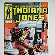 Marvel Comics The Further Adventures of Indiana Jones, Vol. 1, No. 10, October 1983