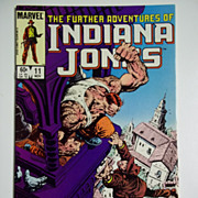 Marvel Comics The Further Adventures of Indiana Jones, Vol. 1, No. 11, Nov. 1983