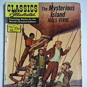 SOLD Classics Illustrated Comic, No. 34, Feb. 1947: The Mysterious Island