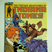 Marvel Comics The Further Adventures of Indiana Jones, Vol. 1, No. 31, Sept. 1985