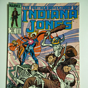Marvel Comics The Further Adventures of Indiana Jones, Vol. 1, No. 33, Jan. 1986