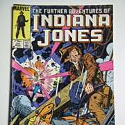 Marvel Comics The Further Adventures of Indiana Jones, Vol. 1, No. 34, March 1986