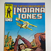 Marvel Comics The Further Adventures of Indiana Jones, Vol. 1, No 13, Jan. 1984