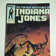 Marvel Comics The Further Adventures of Indiana Jones, Vol. 1, No. 14, February 1984