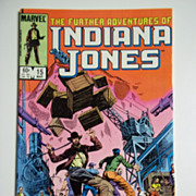 Marvel Comics The Further Adventures of Indiana Jones, Vol. 1, No. 15, March 1984