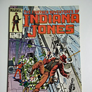 Marvel Comics The Further Adventures of Indiana Jones, Vol. 1, No. 16, April 1984