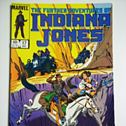 Marvel Comics The Further Adventures of Indiana Jones, Vol. 1, No. 17, May 1984