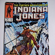 Marvel Comics The Further Adventures of Indiana Jones, Vol. 1, No. 18, June 1984