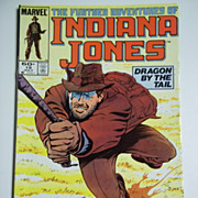 Marvel Comics The Further Adventures of Indiana Jones, Vol. 1, No. 19, July 1984