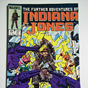 Marvel Comics The Further Adventures of Indiana Jones, Vol. 1, No. 27, March 1985