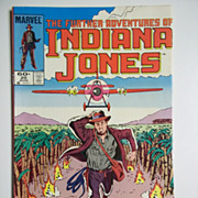 Marvel Comics The Further Adventures of Indiana Jones, Vol. 1, No. 20, Aug. 1984