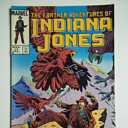 Marvel Comics The Further Adventures of Indiana Jones, Vol. 1, No. 21, Sept. 1984