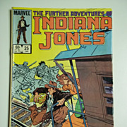 Marvel Comics The Further Adventures of Indiana Jones, Vol. 1, No. 25, Jan. 1985
