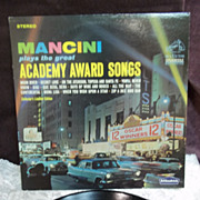 Henry Mancini Plays the Great Academy Award Songs, RCA Victor Dynagroove LP Vintage Vinyl