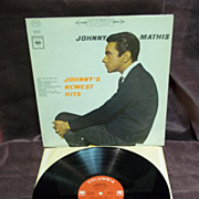 Johnny Mathis: Johnny's Newest Hits, Columbia Records LP Vintage Record