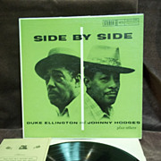 Duke Ellington and Johnny Hodges: Side By Side, Verve Records Living Sound Fidelity LP Vintage