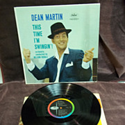 Dean Martin : This Time I'm Swingin'!, Capitol Records High Fidelity LP Vintage Vinyl
