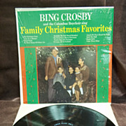 Bing Crosby and the Columbus Boychoir Sing: Family Christmas Favorites, Decca Records Vintage