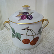 SOLD Royal Worcestor China Jelly Jar