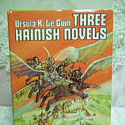 Three Hainish Novels, Ursula K. Le Guin, Nelson Doubleday 1967 HC DJ