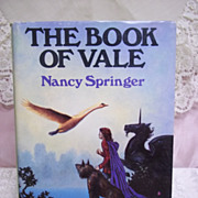 The Book of Vale, Nancy Springer, Nelson Doubleday 1983 HC-DJ