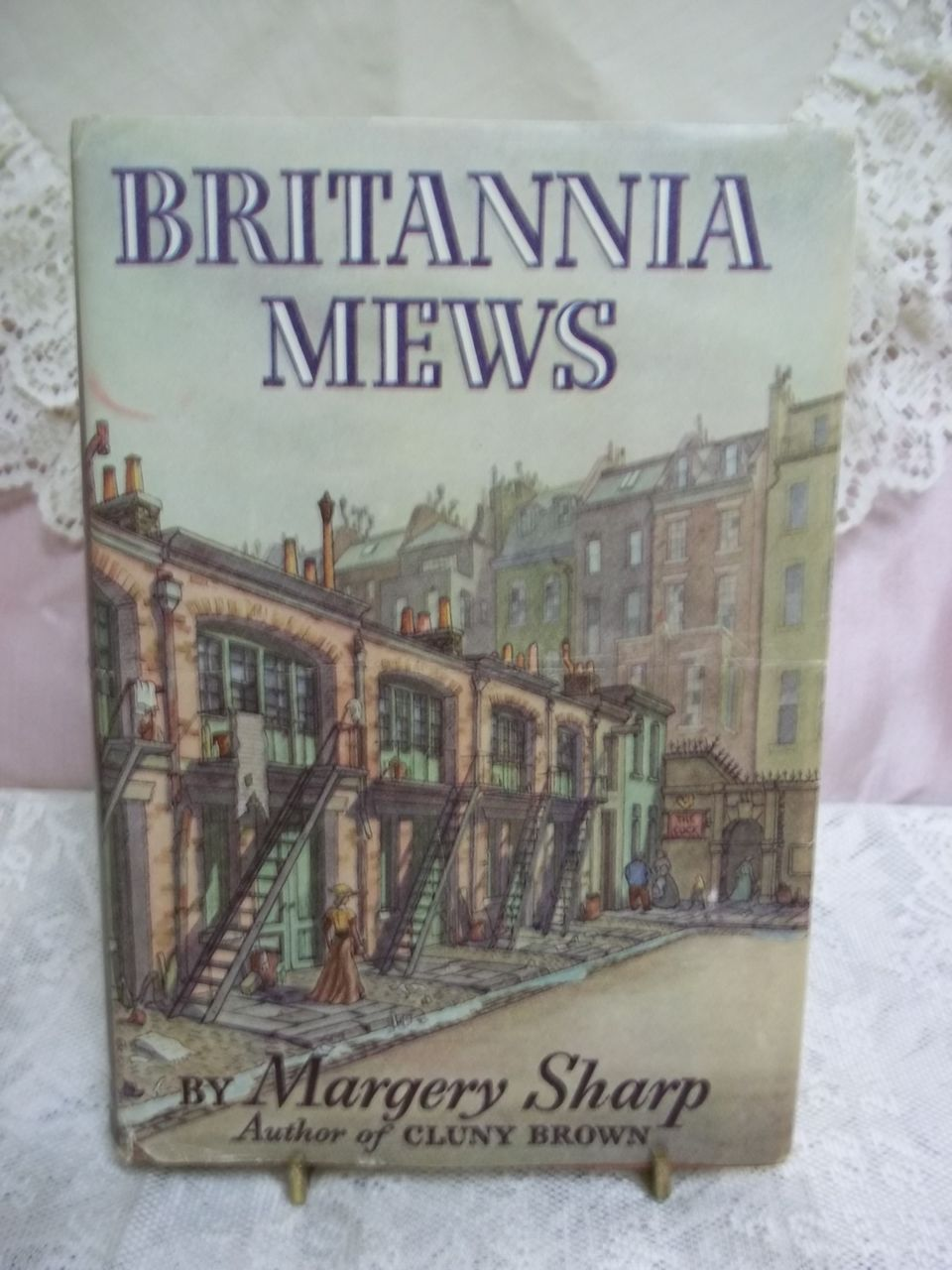 1st Edition: Britannia Mews, Margery Sharp, Little Brown & Co. 1946 HC-DJ