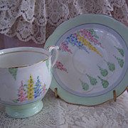 Bell Fine Bone China Cup and Saucer