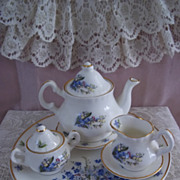 Child's English Fine Bone China Tea Set by Objets d'Art, Yorkshire