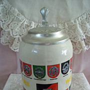 SOLD German Army Bundes Wehr Beer Stein