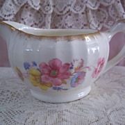 W.S. George Bolero Fine China Creamer BS9065