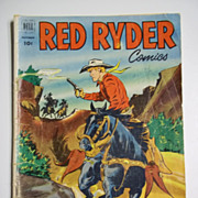 RARE! Dell Comics Red Ryder No. 112, Nov. 1952