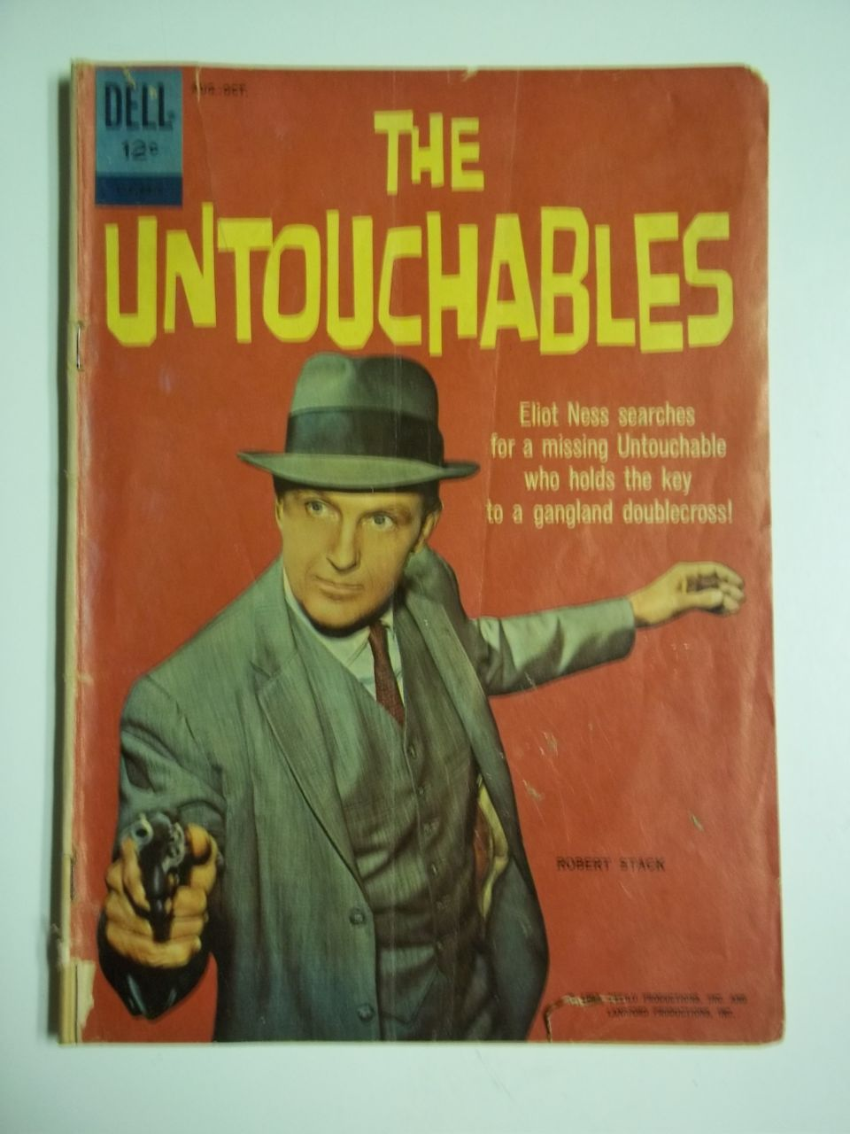 RARE! Dell Comics The Untouchables No. 01-879-210, Aug. 1962