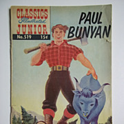 SOLD Classics Illustrated Junior No. 519, Oct. 1955: Paul Bunyan