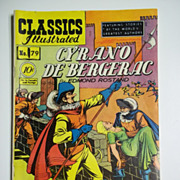 First Edition Classics Illustrated No. 79, Jan. 1951: Cyrano de Bergerac