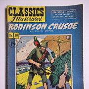 Early Edition Classics Illustrated No. 10, 1949: Robinson Crusoe