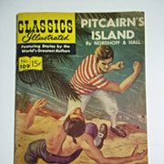 Classics Illustrated No. 109, July 1953: Pitcairn's Island