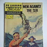 Classics Illustrated Comic No. 103, Jan. 1953: Men Against the Sea