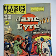 Early Edition Classics Illustrated No. 39, July 1947: Jane Eyre