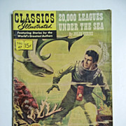Classics Illustrated Comic No. 47, May 1948: 20,000 Leagues Under the Sea