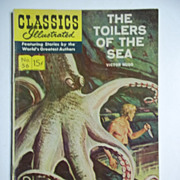 Classics Illustrated No. 56, Feb. 1949: The Toilers of the Sea