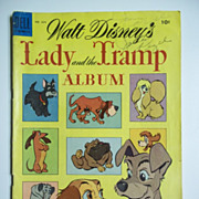 Dell Comics The Lady and the Tramp No. 634, 1955