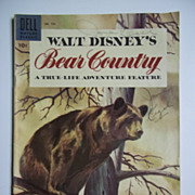 Dell Comics Walt Disney's Bear Country No. 758, 1956