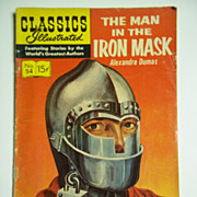 Classics Illustrated Comic No. 54, Dec. 1948: The Man in the Iron Mask