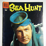 Dell Comics Sea Hunt No. 928, 1958 Near Mint