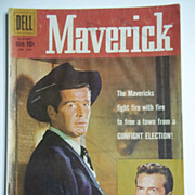Dell Comics Maverick No. 1005, Jul.-Sept. 1959